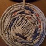 Ciondolo con riciclo della carta