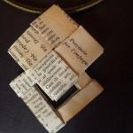 Ciondolo carta riciclata