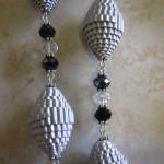 Particolare : Perle di carta
