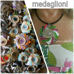 medaglioni collage